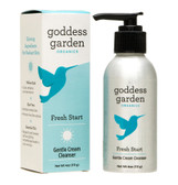 Organics Fresh Start Gentle Cream Cleanser 4 oz (113 g), Goddess Garden