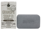 Face & Body Bar Soap Detoxify Charcoal 4.25 oz (120 g), Grandpa's