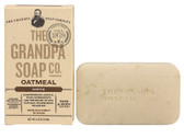 Face & Body Bar Soap Soothe Oatmeal 4.25 oz (120 g), Grandpa's