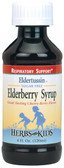 Eldertussin Elderberry Syrup 4 oz Herbs for Kids