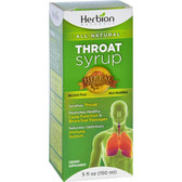 Throat Syrup Alcohol Free 5 oz (150 ml), Herbion