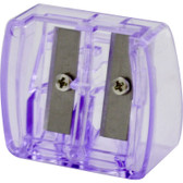 Side By Side Dual Sharpener With Flip Top Purple, Honeybee Gardens