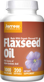 Organic Flaxseed Oil 1000 mg 200 sGels, Jarrow Formulas