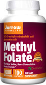 Methyl Folate 1000 mcg 100 Capsules, Jarrow Formulas