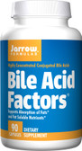 Bile Acid Factors 90 Capsules, Jarrow Formulas