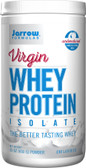 Virgin Whey Protein Isolate Powder Unflavored 16 oz (450 g), Jarrow Formulas