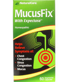 MucusFix 60 Caps Natural Care, Sinus Congestion