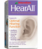HearAll 60 Caps Natural Care, Hearing
