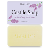 Castile Soap Bar Lavender 5 oz (141 g), Madre Labs