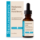 Serumdipity Hyaluronic Acid Facial Serum 1 oz (30 ml), Madre Labs