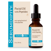 Serumdipity Facial Oil with Peptides 1 oz (30 ml), Madre Labs