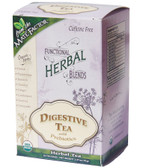 Organic Herbal Blends Digestive Tea w/ Prebiotics 20 Tea Bags, Mate Factor