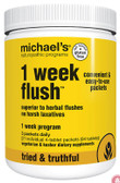 1 Week Flush 21 4-Tablet Pkts (84 Tabs), Michael's Naturopathic