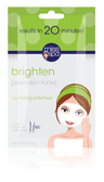 Brighten 1 Pre-Treated Facial Sheet Mask 1 Mask, Miss Spa