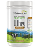 New Zealand Grass Fed Whey Protein Booster Chocolate 17.8 oz (504 g), Naturade