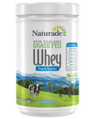 New Zealand Grass Fed Whey Protein Booster Vanilla 16.1 oz (456 g), Naturade