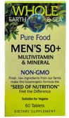 Whole Earth & Sea Men's 50+ Multivitamin & Mineral 60 Tabs, Natural Factors