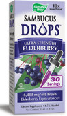 Sambucus Ultra-Strength Elderberry 1 oz (30 ml), Nature's Way