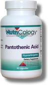 Pantothenic 500 mg B-5 90 Caps, Nutricology