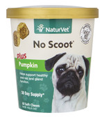 No Scoot for Dogs Plus Pumpkin 60 Soft Chews 6.3 oz (180 g), NaturVet