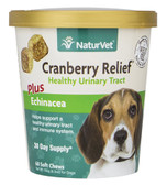 Cranberry Relief for Dogs Plus Echinacea Soft Chews 6.3 oz (180 g), NaturVet
