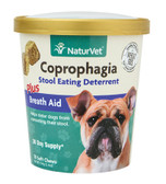 Coprophagia for Dogs Plus Breath Aid Soft Chews 5.4 oz (154 g), NaturVet