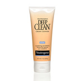 Deep Clean Cream Cleanser 7 oz (200 g), Neutrogena