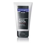 Men Razor Defense Face Scrub 4.2 oz (124 ml), Neutrogena