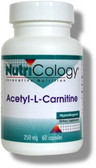 Acetyl L-Carnitine 250 mg 60 Caps, Nutricology