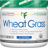 Certified USDA Organic Wheat Grass 5.29 oz (150 g), NovaForme