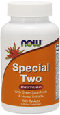 Special Two Multi Vitamin 180 Tabs, Now Foods