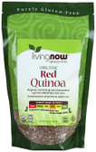 Gluten Free Organic Red Quinoa 14 oz (397 g), Now Foods
