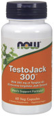 TestoJack 300 60 VCaps, Now Foods