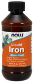 Iron Liquid 8 oz (237 ml), Now Foods