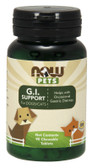 Pets GI Support For Dogs/Cats 90 Chewable Tabs, Now Foods