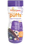 Organics Superfood Puffs Purple Carrot & Blueberry 2.1 oz, Nurture (Happy Baby)
