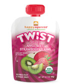 Squeeze Organic Superfoods Organic Apple Beet Strawberry Kiwi 4 ct, Happy Baby