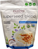 Organic Superseed Blend With Coconut 10 oz (283 g), Nutiva