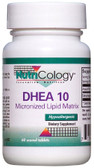 DHEA 10 60 Scored Tabs, Nutricology