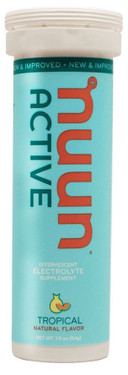 Active Effervescent Electrolyte Tropical 10 Tabs Nuun Hydration