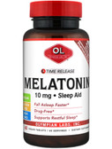 Melatonin Time Release 10 mg 60 Veggie Tabs, Olympian Labs