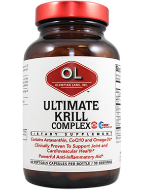 Ultimate Krill Complex 60 Softgel Capsules, Olympian Labs