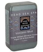 Triple Milled Mineral Soap Volcanic Mud 7 oz (200 g), One with Nature