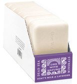 Dead Sea Mineral Soap Goat's Milk & Lavender 6 Bars 4 oz Each, One with Nature