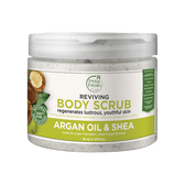 Argan Oil & Shea Body Scrub 16 oz (473 ml), Petal Fresh