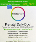 Prenatal Daily Duo Multivitamins 30 Plus 30 Rainbow Light