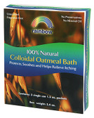 100% Natural Colloidal Oatmeal Bath 3 Pkts 1.5 oz Each, Rainbow Research
