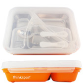 Thinksport GO2 Container Orange 1 Container, Think