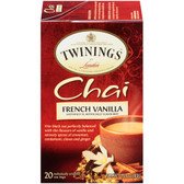 Chai French Vanilla 20 Tea Bags 1.41 oz (40 g), Twinings