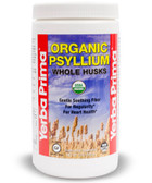 Organic Psyllium Whole Husks 12 oz (340 g), Yerba Prima